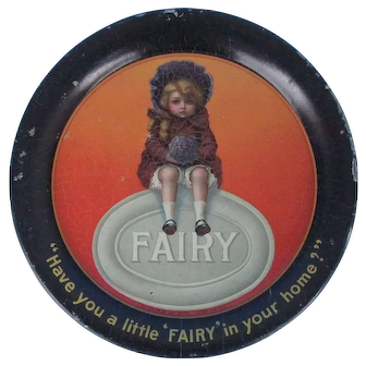 Fairy Soap Tip Tray Vintage