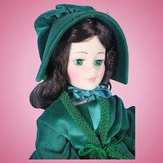 """Madame Alexander 21"""" Vintage Scarlett Portrait Doll"""