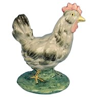 Stangl Chicken Vintage Glazed Pottery Figurine