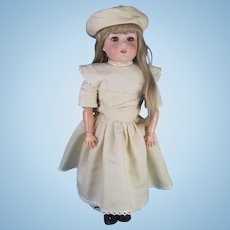 Antique Bisque Head Doll on Ball Jointed Composition Body