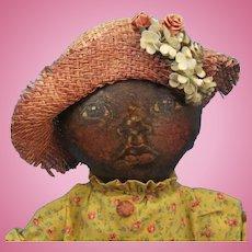 Black Child Cloth Art Doll