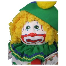 Baby Cakes All Cloth Original Cabbage Patch Kid Clown