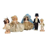 Nancy Ann StoryBook Wedding Party Dolls