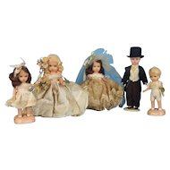 Nancy Ann StoryBook Wedding Party Dolls