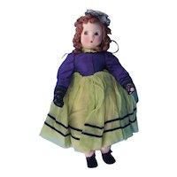 Madame Alexander Vintage Little Shaver Cloth Doll c.1942