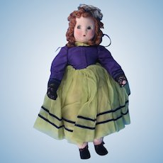 Madame Alexander Vintage Little Shaver Cloth Doll c.1942