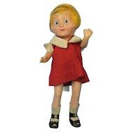 Little Orphan Annie Composition Doll Vintage