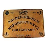 Quija Board Wood Vintage