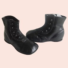 Toddler High Top Shoes Antique