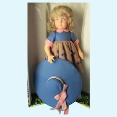 Lenci Liviana All Felt Doll from 1980