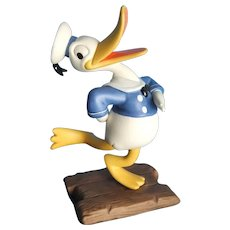 Donald's Debut/The Wise Little hen/Disney Figurine