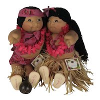Polynesian Cabbage Patch Kids
