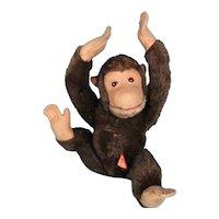 Clemens Spieltiere Mohair Chimpanzee Vintage