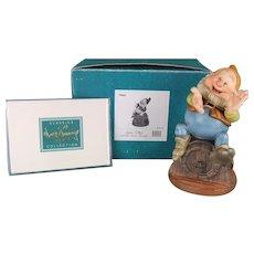 Disney Porcelain Figurine Happy Dwarf from Snow White