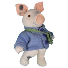 All Wool Pig by Kajsa Lindstrom