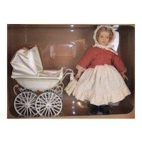 Marklin Doll Carriage with Heidi Ott Doll NIB LTD. 1995