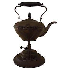 Antique Joseph Heinrichs Bronze Coffee Tea Pot