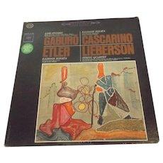 Works by Cascarino, Etler, Gaburo, Lieberson LP Vinyl SIGNED