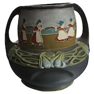 Julius Dressler Austria  Pottery circa 100 Julius Dressler with raised mark JBD fine decorative arts.
