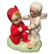 Napco  figurine Angel and devil