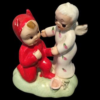 Napco  figurine Angel and devil
