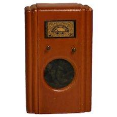 Vintage Kage Dollhouse Floor Radio