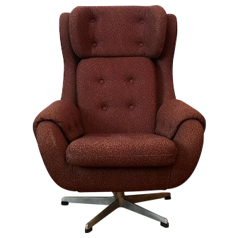 Czech Egg Armchair, 1960s