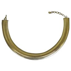 Vintage Mid-Century Christian Dior Stretch Choker Necklace