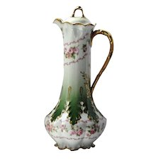 Lovely Limoges Chocolate Pot 1937-1941