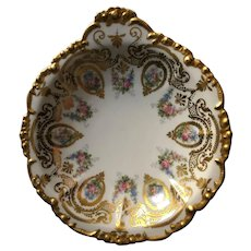 Limoges Hand Painted Serving Bowl 1914-1932