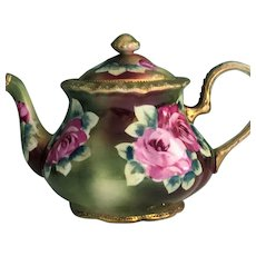 Nippon Teapot Gorgeous Roses 1891