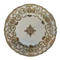 Nippon Gold on White Plate Maple Leaf 1891-1921