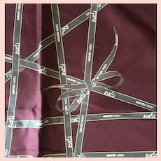 Hermes Bolduc Pochette 45cm Silk Twill