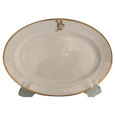 B in Gold Platter