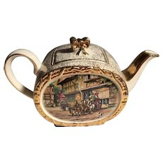 James Sadler Barrel Teapot 1950s