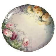 Haviland ,France decorative gold rimmed plate 1894-1931