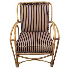 Rattan /bamboo chair with cushions