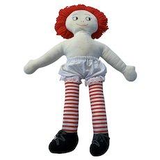 Vintage Raggedy Ann doll 1970's