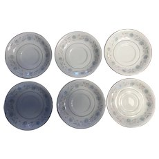 English Garden, Platinum 1221  fine china 1960