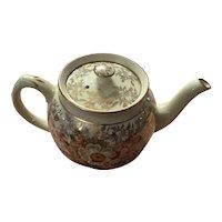 19 th century Sadler chintz teapot 4 cup