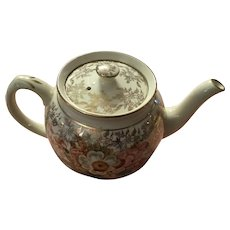 19 th century Sadler chintz teapot 4 cup
