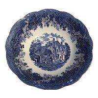 J&G MEAKIN England cobalt Blue serving bowl,16 th century