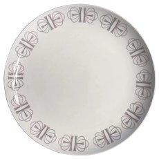 Franciscan Whitestone ware, Merry Go Round 1960's dinner plate