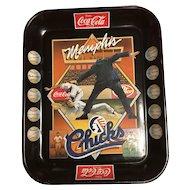 Vintage-Coca-Cola/Dr.Pepper  Memphis Chicks-Serving Tray