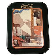 Coca Cola tray:Reflections in the mirror -1993