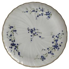 Bernardaud Limoges (Myosotis) France China