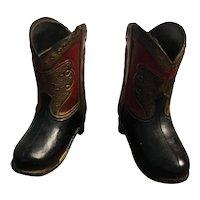 Vintage Cowboy Boots/Toothpick holder