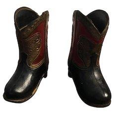 Little vintage Cowboy Boots/Very Unique/Toothpick holder
