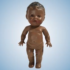 Tod-l-tot  black African American squeaky  doll 1950s sun rubber co.