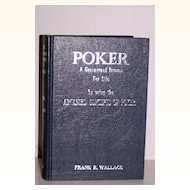 Poker Book Frank R. Wallace